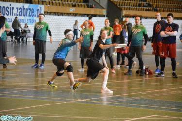 Halowe Mistrzostwa Polski ultimate frisbee zabrze
