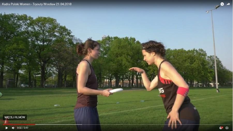 Kadra Polski Women ultimate frisbee