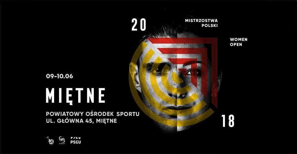 plakat mistrzostw polski ultimate 2018
