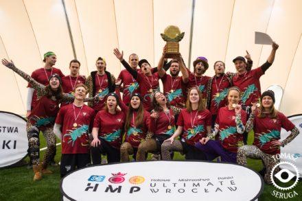 Mistrzostwa Polski ultimate frisbee – Zawierucha wygrywa na hali