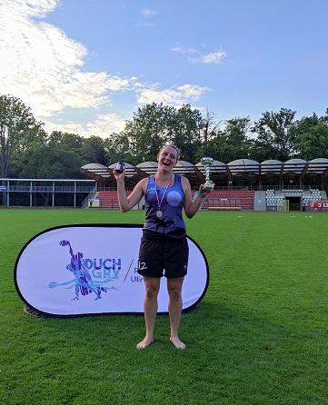 Mistrzostwa Polski ultimate frisbee mixed 2021 - Katarzyna Podpora WMVP