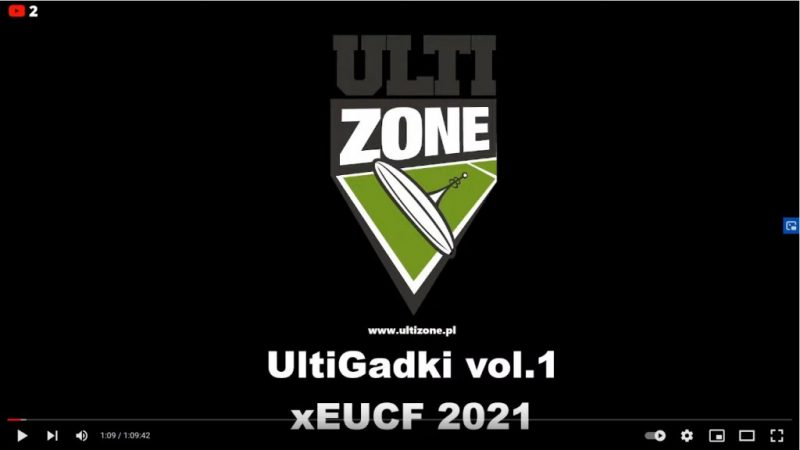 UltiGadki vol. 1: EUCF 2021 – Podsumowujemy mistrzostwa w Brugii (VIDEO)